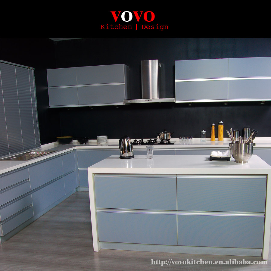 Apartment Kitchen Cabinets: China Made High Gloss Lacquer Apartment Kitchen Cabinet-in Kitchen Cabinets From Home