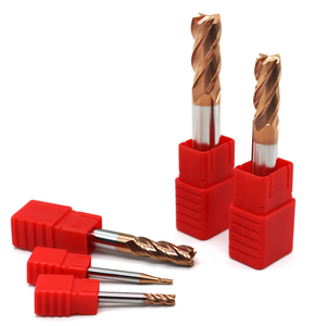 Image 4 - 5 peças hrc60 4 flauta 1mm 1.5mm 2mm 2.5mm 3mm 4mm 5mm 6 ponta cortadora para moagem, fresa de liga de carboneto, tungstênio, aço, fresagem