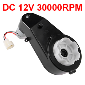 Uxcell(R) Hot Sale 1Pcs Gearbox for Power Wheels 550 DC 12V 30000RPM High Speed Drive Engine Motor for Electric Ride on Car цены онлайн