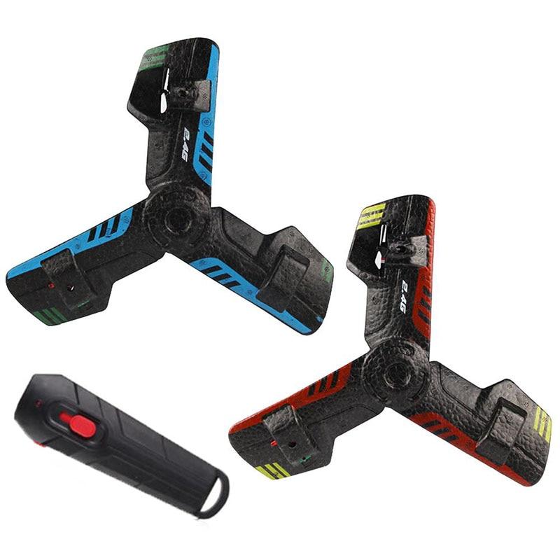 2,4G RC Spielzeug UFO Bumerang Flugzeuge Kreative Mini Drone Fernbedienung Spielzeug Gelegentlichem Farbe