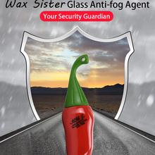 60ML Anti-fog Spray środek do czyszczenia szkła ochrona okien na produkt do pielęgnacji auta tanie tanio FantasticXml Nie Przeciw Zamarzaniu 3years Super Hydrophobic Effect Enhance Visibility Windscreen Glass Surface Paint Coating