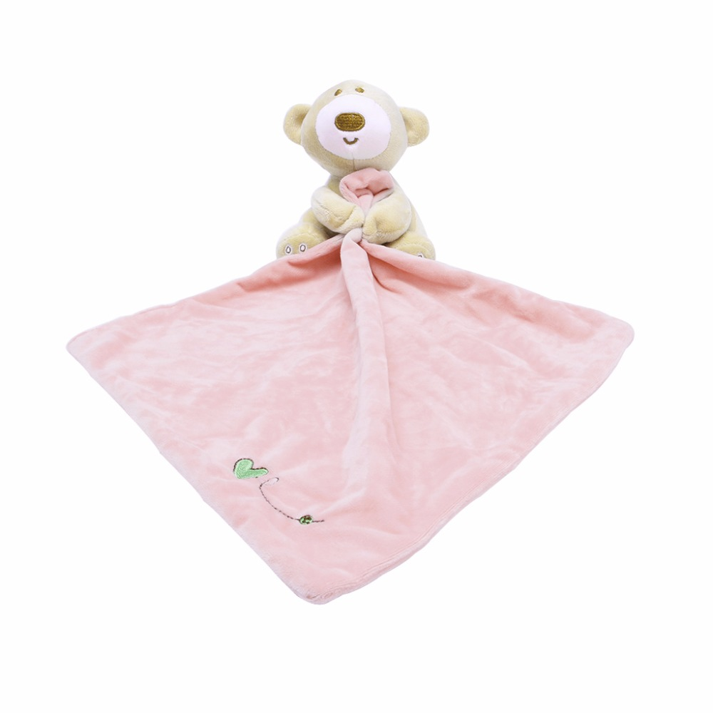 Baby Kids Comforter Washable Blanket Soft Smooth Toy Plush Stuffed #H055#