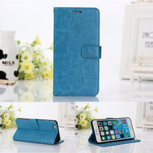 Vintage Deluxe Stand Wallet Leather Case for iPhone 6 6S 4.7″ Flip Book Style Phone Bag Cover with Card Holder