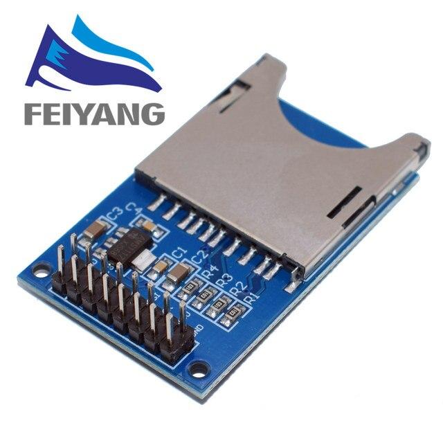 Venda quente de Leitura e Escrita Módulo Módulo Slot para Cartão SD Soquete Leitor ARM MCU para arduino Starter Kit DIY