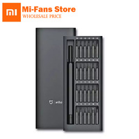 100 Original Xiaomi Mihome Wiha Daily Use Screwdri Kit 24 Precision Magnetic Bits Alluminum Box Wiha