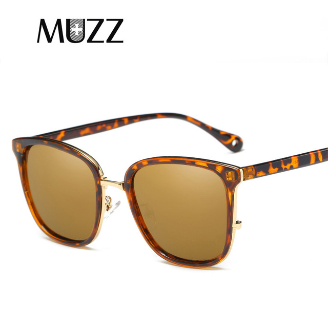 MUZZ Brand Mens Polarized Sunglasses Special Driving Driver Sun glasses  Women Vintage Rectangle Anti-UV a8bc7e6cdc