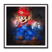 DIY Diamond Painting New Style Modern European Cartoon Characters Cross-Stitch Mario Living Room Decorative