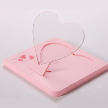 USB Romantic LED Luminous Fluorescent Message Board Heart Shape Valentines Creative Gift Night light