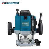FivePears 6mm 8mm 12mm Electric Router Woodworking Trimmer Router 1800W Trimmer Slot Machine gift 1/2 3/8 1/4 Collet chuck