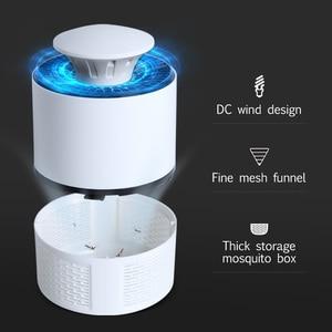 Image 4 - Лампа для уничтожения комаров, электрическая USB ловушка для насекомых, светодиодный светильник для защиты от комаров, D Gcm