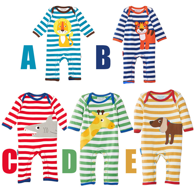 Free Shipping Baby Romper Long Sleeve 100% Cotton