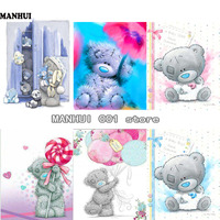 DIY Diamond Painting Embroidery Parabola Bear Series Diamond Painting Painting Home Children S Room Decoration Gift