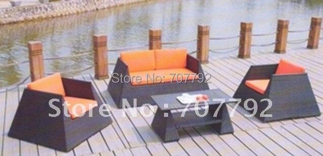Hot sale outdoor wicker sofa