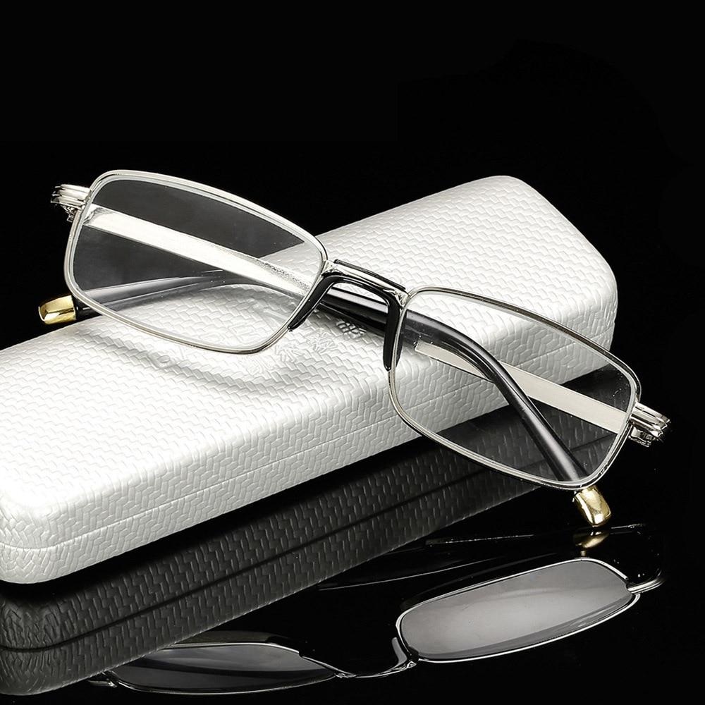 49d0af677e Los hombres las gafas de lectura de las mujeres de marco de Metal gafas de  ancianos de presbicia gafas hipermetropía dioptrías + 1 + 1 + 1,5 + 2 + 2,5  + 3 + ...