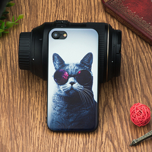 Dog Pattern TPU Silicon Coque Funda Coque Shell Case