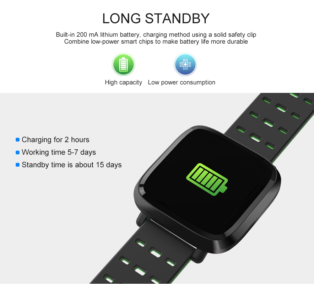 Y8 Smartwatch Wearable Device Bluetooth IP67 Waterproof Pedometer Heart Rate Monitor Color Display Smart Watch For AndroidIOS (13)
