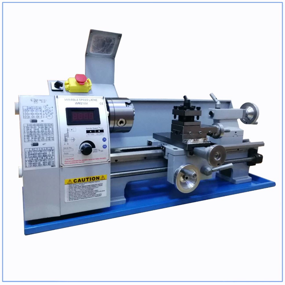 Outstanding Us 770 96 8 Off Mini Metal Lathe Bench Variable Speed 8 X 16 750W Top Digital For Wood Working In Lathe From Tools On Aliexpress Machost Co Dining Chair Design Ideas Machostcouk