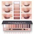 Moda 18 Colores Paleta de Sombra de ojos de Las Mujeres Diamante Brillante Brillante Maquillaje Colorido Sombra de Ojos Del Brillo Del Flash Set Maquillaje Con el Cepillo