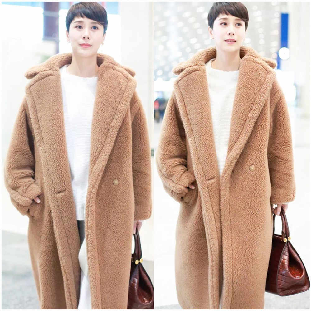 723a86153 Teddy Coat Real Fur Coat Women Winter 2018 New Collection Natural Fur Fashion  Trend Female Clothes
