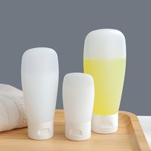 Portable Flexible Easy to squeeze Travel Bottle Facial Cleanser Shampoo Bath Bottles Container Leak-proof