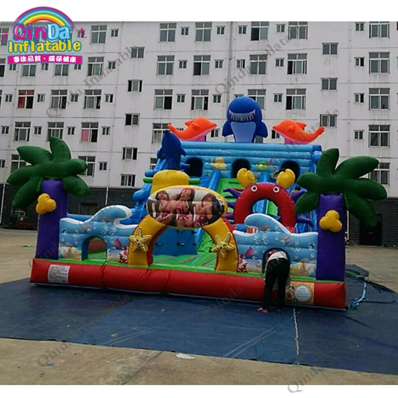 2017 New design outdoor commercial inflatable bouncer, giant kids infaltable bouncy castle rental hanro трусы