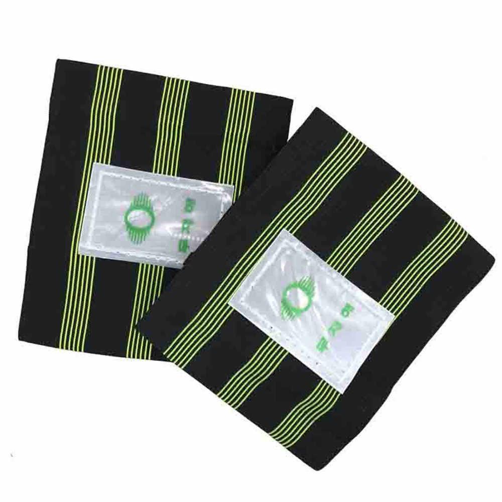 2 Pcs Fiets Reflecterende Enkel Been Binden Pols Veiligheid Band Broek Clip Strap W22527