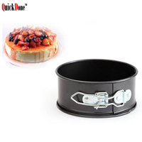 Bakeware Baking Pans Cake Mold Frying Pan Small Round Dish Heavy Carbon Non Stick Slipknot Removable