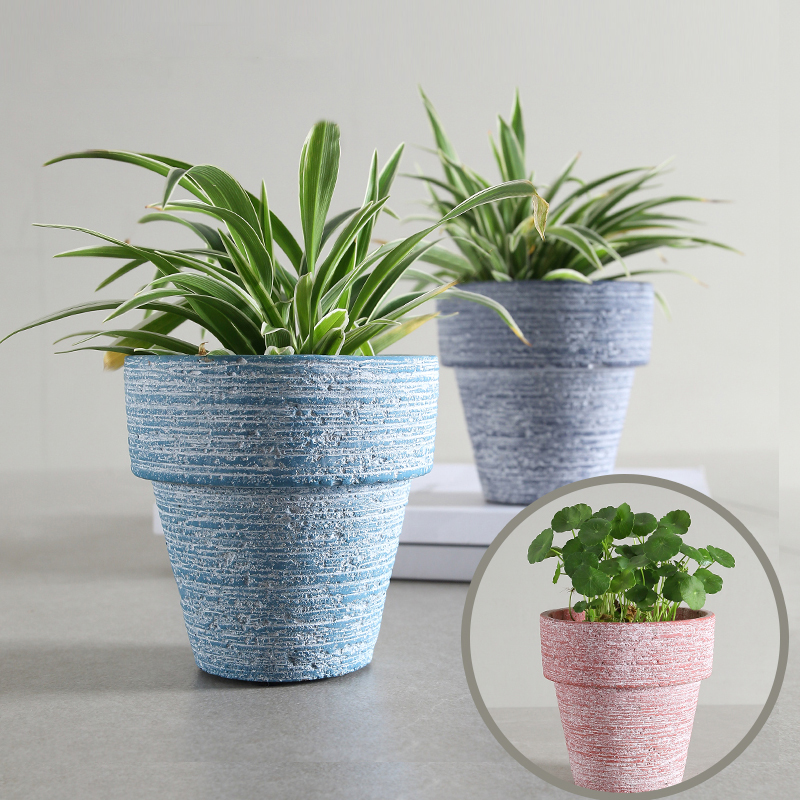 High quality small traditional cement cactus flower pots pink blue high quality small traditional cement cactus flower pots pink blue gray succulent plant pot decorative kitchen herb container in flower pots planters mightylinksfo