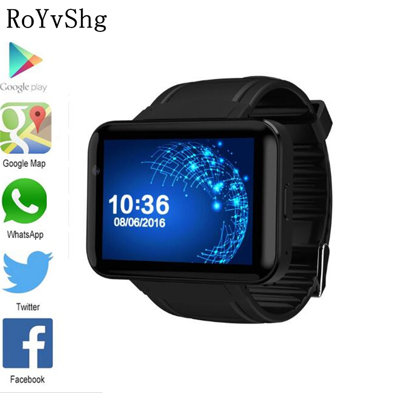 Reloj inteligente con Bluetooth 2,2 pulgadas Android OS 3G Smartwatch teléfono hablar Banda Dual Core 1,2 GHz 512MB RAM 4GB ROM Cámara WCDMA GPS llamada - 3