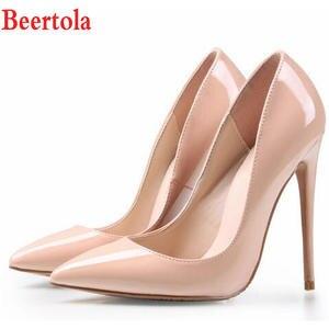 f7278415d38804 Beertola Wedding Shoes High Heels Stiletto Women Pumps