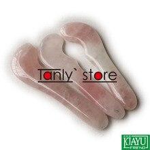 Wholesale and retail Natural Powder Crystal Massage Guasha beauty kit (115x28mm) 2pieces/lot