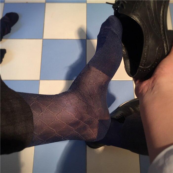 SORRYNAM Free Shipping Slim Mens Business Suits In Tube Socks Stockings Mens Socks Gay Mens Socks