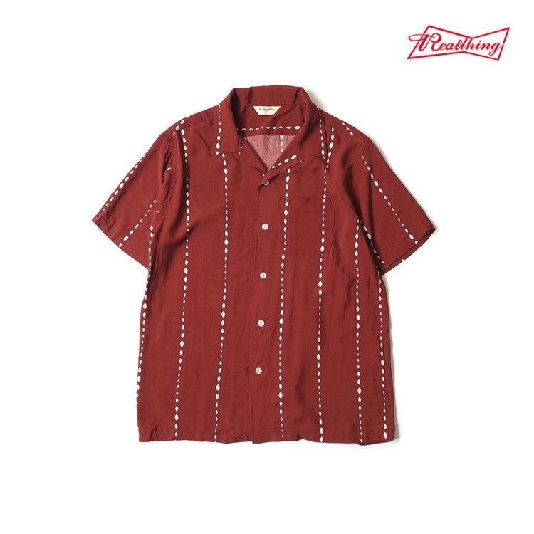 ¡Lea la descripción! Camisa de rayón con estilo para hombre de talla asiática vintage - 3