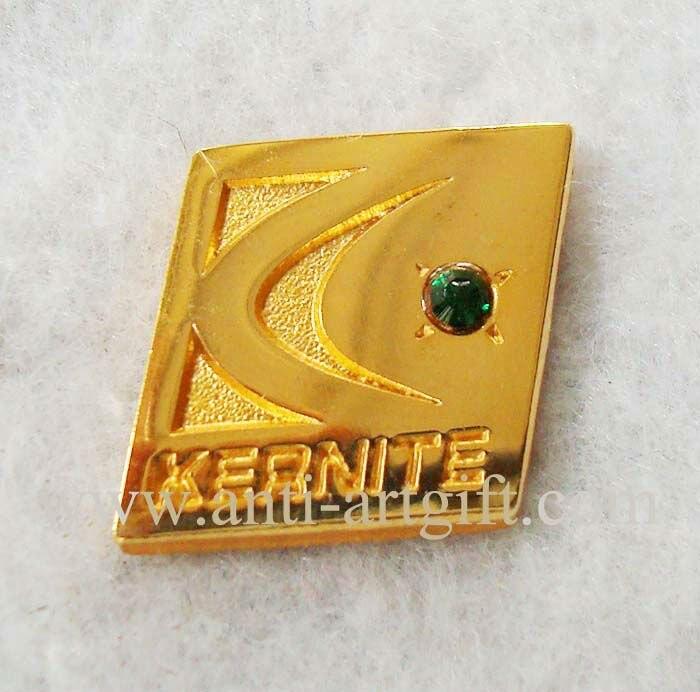Diamond Company эмблемы 24 К золотой пластине