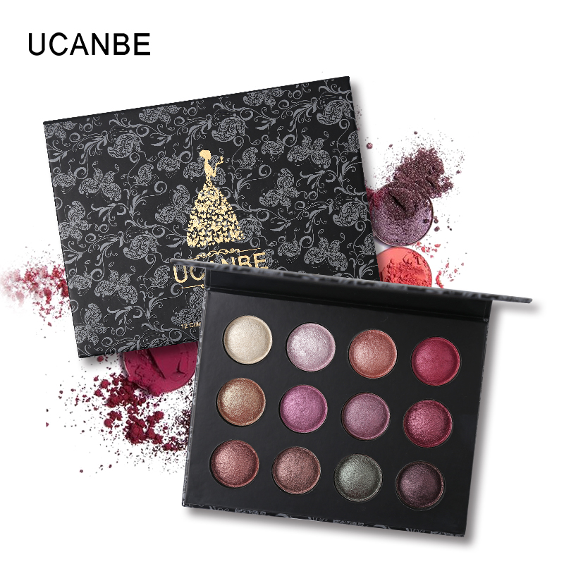 UCANBE Brand Palette Big Clearence Makeup Sets Low Price Highlighter Bronzer Eyeshadow Blusher Pressed Powder Cosmetic Kit 1
