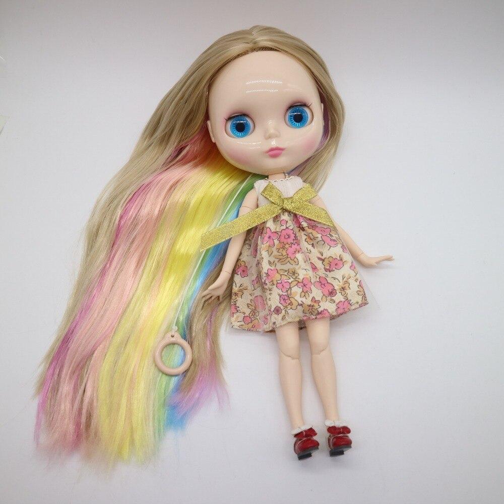 공동 바디 누드 blyth 인형, 공장 인형, diy 여러 가지 빛깔의 머리에 적합한 패션 인형-에서인형부터 완구 & 취미 의  그룹 1