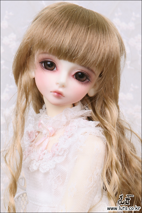 Kid Delf Girl BORY BJD doll 1/4 LUTS baby girl SD Doll free eyes