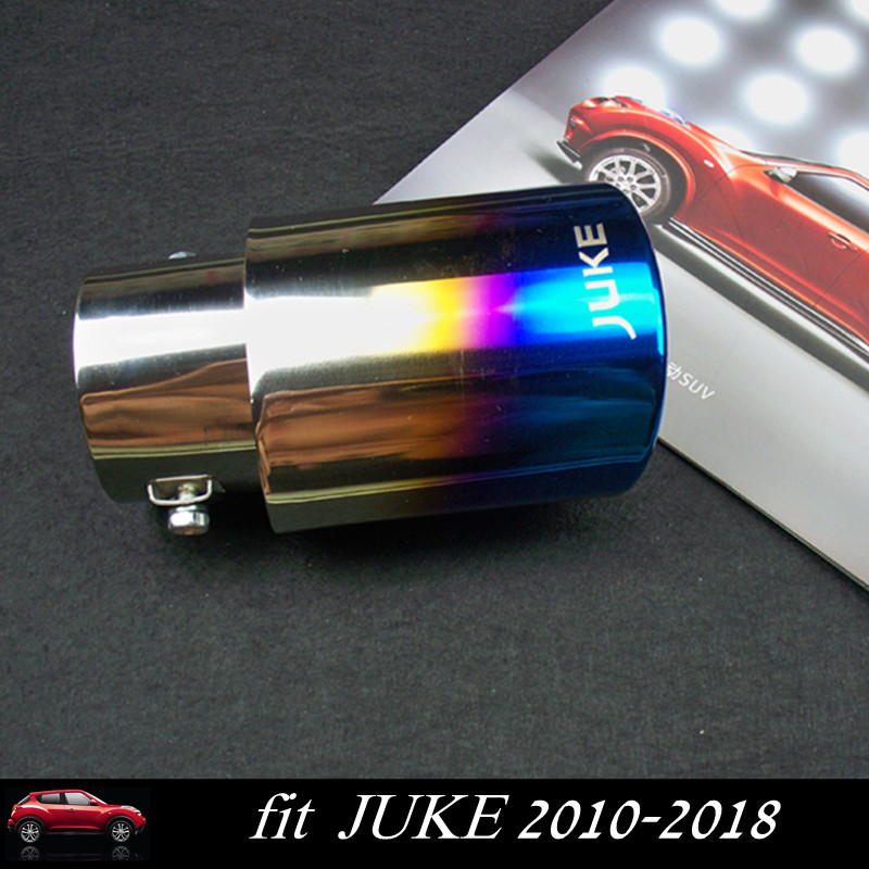 NEW JUKE Exhaust Pipe Stainless Steel Exhaust Pipe Tail Pipe Muffler for Nissan JUKE 2010-2018