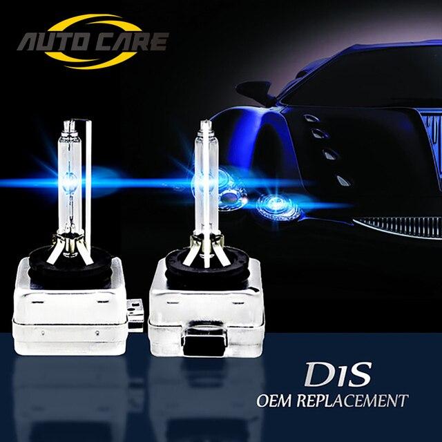 2 шт. D1S Сменное 12В 35 Вт D1R D1C белый разрядные лампы высокой интенсивности фары автомобиля лампы High Lumen 4300 K 5000 K 6000 K 8000 K кронштейн для автомобиль...