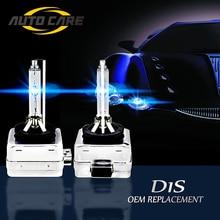 2 pcs D1S di Ricambio 12 V 35 W D1R D1C Bianco HID Lampadine Fari Auto Lampade Ad Alta Lumen 4300 K 5000 K 6000 K 8000 K Luce Automotive