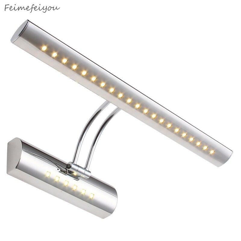 Modern Minimalist 40cm 55cm  Mirror Lights Mural Light Special Waterproof Bathroom Vanity Lamps Cabinet LED Lamp Sliver Gold