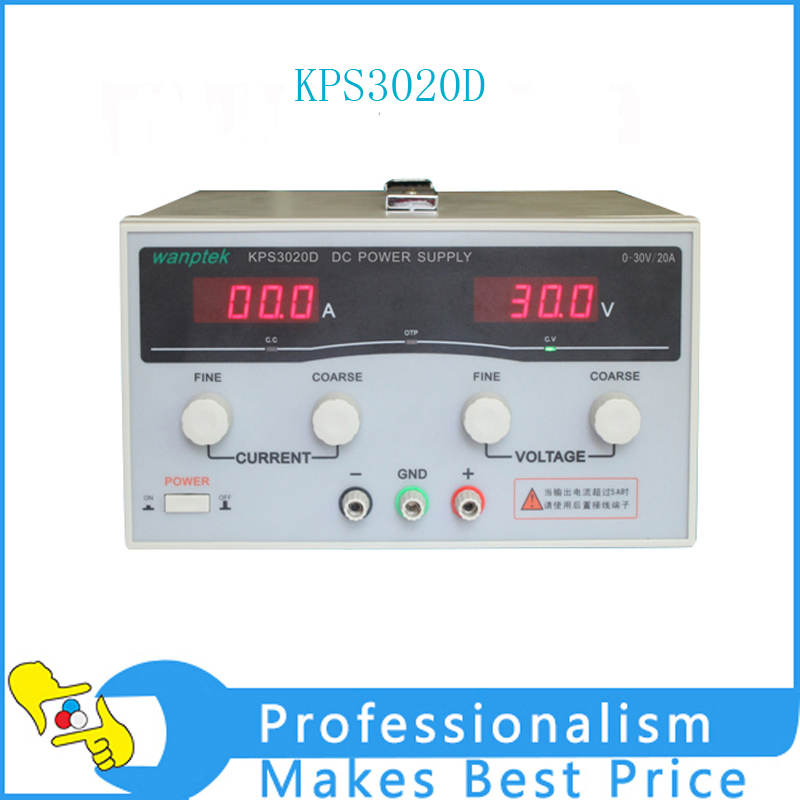 New KPS3020D high precision Adjustable Digital DC Power Supply 30V/20A for scientific research Laboratory Switch DC power supply kps3020d high precision adjustable digital dc power supply 30v 20a for scientific research laboratory switch dc power supply