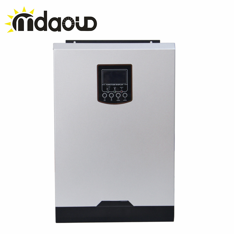 free shipping Hybrid Off Grid 3000W/3200W/5000W 80A Charger Solar Inverter Built in MPPT PF1.0 Support Mobile WIFI Monitoring