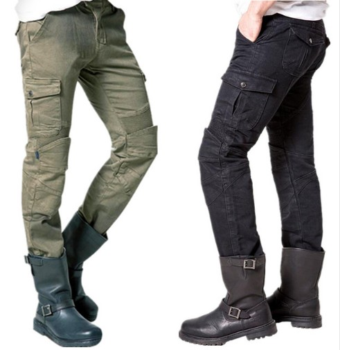 Newest Hot sales two colors Uglybros MOTORPOOL UBS06 jeans Leisure motorcycle jeans pants of locomotive army