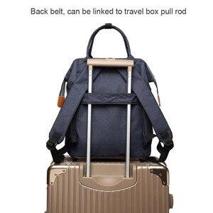 Image 3 - Lequeen sac à couches étanche multi fonctions, sac de voyage humide pour bébé, accessoires pour bébé, maman et maternité