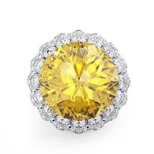 Image 5 - Wong Rain Anillos de Compromiso de piedras preciosas de moissanita para boda, joyería fina, Vintage, 100%, Plata de Ley 925, venta al por mayor