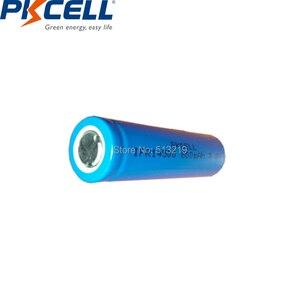 Image 2 - 2 Chiếc PKCELL AA 14500 3.2V Lifepo4 Pin Sạc Lithium Ion Cell 600MAH IFR14500 Cho Camera Năng Lượng Mặt Trời đèn Led