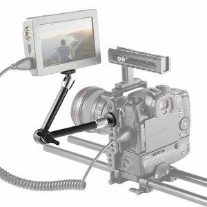 """Image 5 - SmallRig abrazadera de varilla de remolque de 15mm de peso ligero, con rosca de 1/4 """" 20 para Red y otros accesorios de cámara DSLR de 15mm, 2 uds. 2061"""