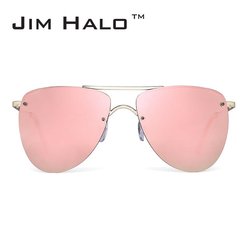 ג 'ים Halo מקוטב ללא שוליים שטוח מראות - אבזרי ביגוד