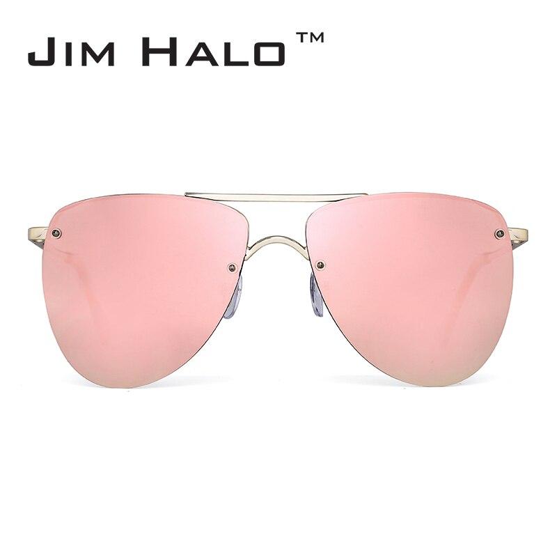 Jim Halo Polarized Rimless Flat pa syze dielli Lente me syze dielli - Aksesorë veshjesh
